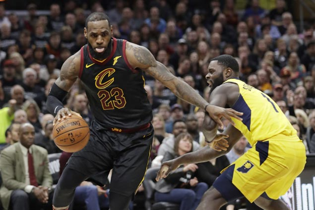 LeBron scores 45 as Cavs down Pacers in Game 7 to reach Eastern Conference semis