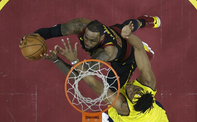 LeBron not done yet, but Pacers series has taken physical toll: 'I'm burnt right now'
