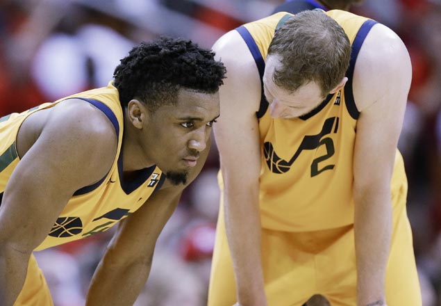 Jazz defense at a loss as Rockets soar and Harden posts sixth 40-point playoff game of career