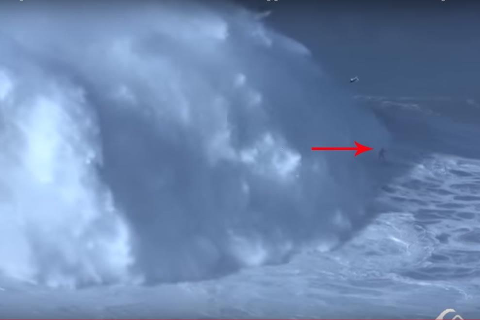 Brazilian surfer Rodrigo Koxa sets new world record for riding biggest wave ever surfed
