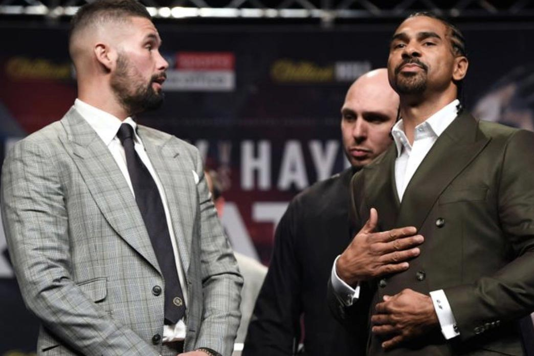 David Haye does away with the trash talk as he gears up for crucial rematch with Tony Bellew