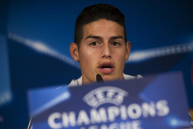 James Rodriguez says he's not seeking revenge as Munich takes on Madrid