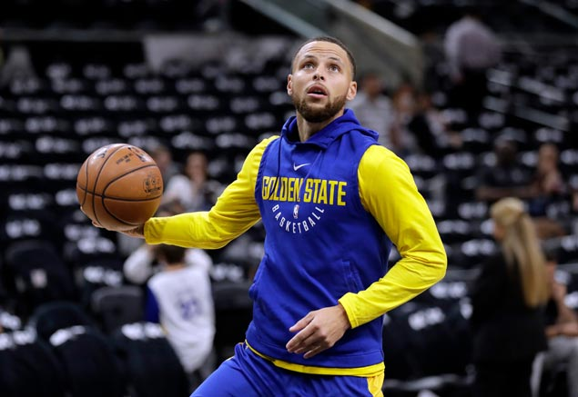 Steph Curry expected to rejoin Warriors in Game Two of West semis against Pelicans