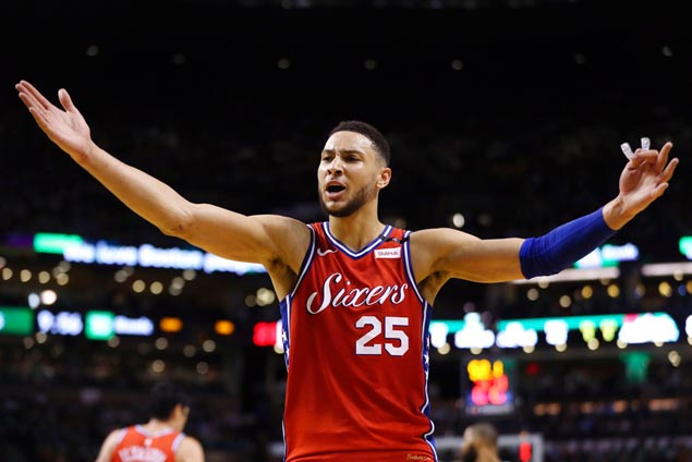 ROUGH NIGHT: Ben Simmons outplayed by Rozier - endures 'Not a rookie' heckling
