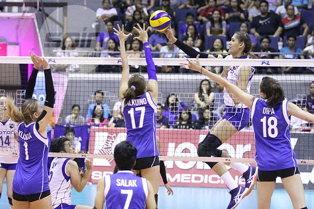 Channon Thompson, Jaja Santiago power Foton past Cocolife to settle for third place