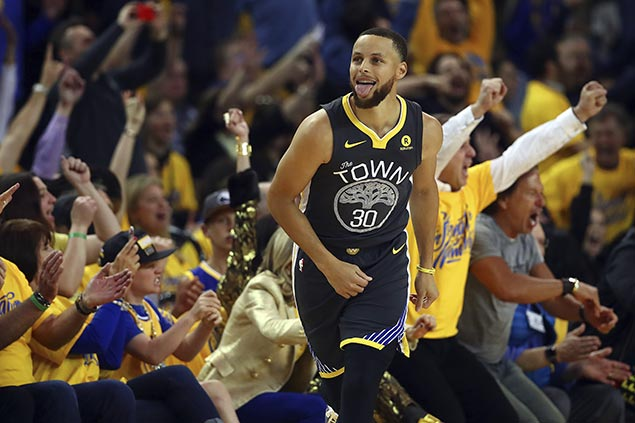 Steph Curry solid in return from injury as Warriors edge Pelicans for 2-0 lead in West semis ...