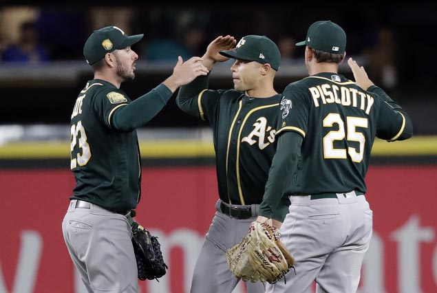 A's rally to victory as M's bullpen blows lead after James Paxton strikes out MLB-high 16