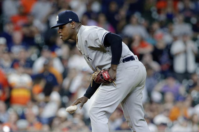 Yankees' Luis Severino shuts out Astros for third straight win