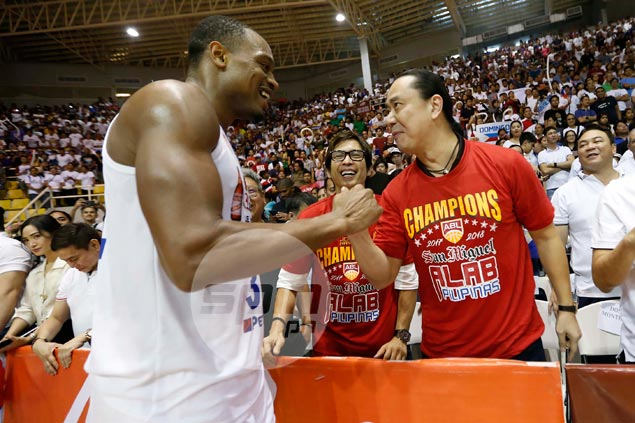 Brownlee got 'good luck' text from Cone before Game 5. He hopes to get a Ginebra call-up next