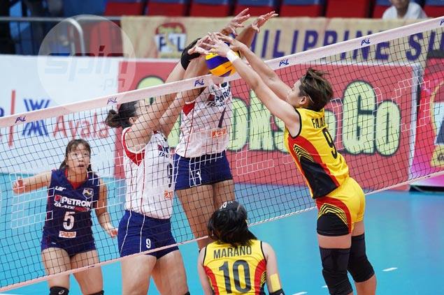 Petron, F2 Logistics eye PSL Invitationals title showdown after duel in Grand Prix