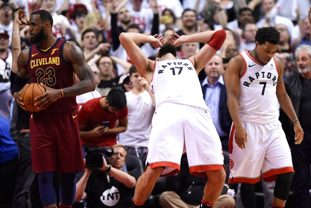 Game 1 is proof that bad case of PTCD (Post Traumatic Cavs Disorder) still ails Raptors