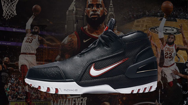 Look back at the evolution of LeBron's sneakers that are as iconic as the King