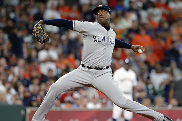 Aroldis Chapman fans Jose Altuve to cap Yankees thrilling win over Astros