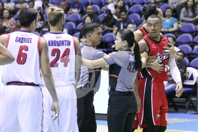 Dyip rookie Jonjon Gabriel filled with regret as 'frustration' led to hit on Abueva