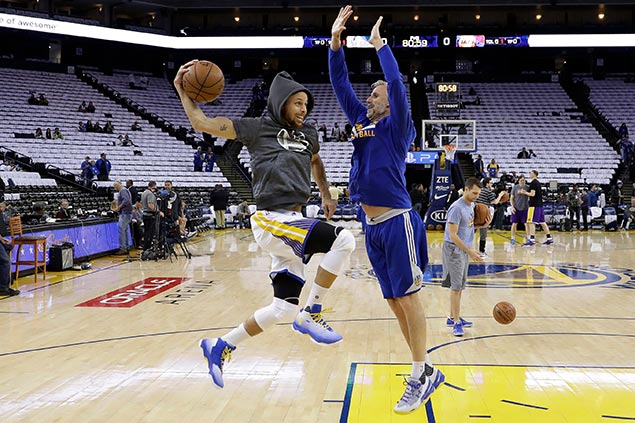 Warriors shooters have separate recipes for success but share one 'Menu' to break out of ruts