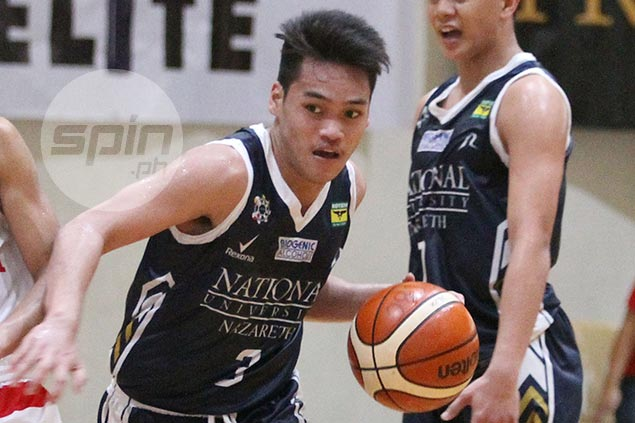 Cyril Gonzales drops 30 on UE Junior Warriors as NU Bullpups forge four-way tie for Freego lead