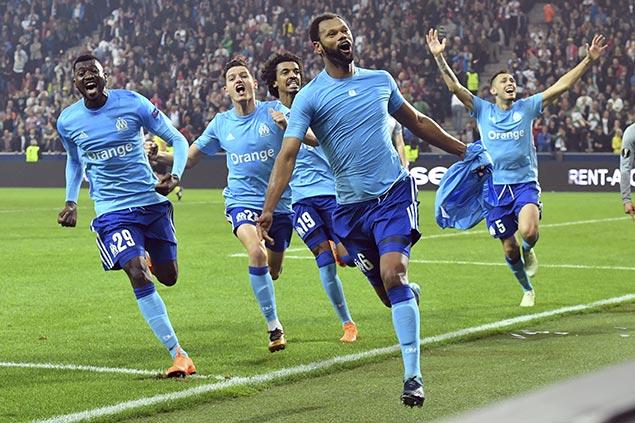 Rolando nets late winner as Marseille sets up Europa League finale vs Atletico
