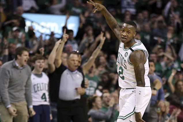 Rozier sparks late flurry to complete comeback from 22 down as Celtics pad lead over Sixers