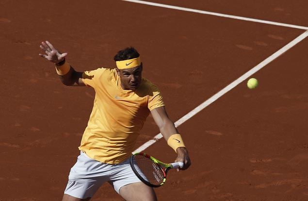 Rafael Nadal sees action in Madrid looking to stay on track for another French Open title