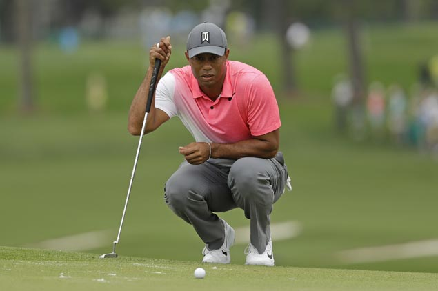 Despite woeful putting at Quail Hollow, Tiger Woods feels he's on track to win again on PGA Tour