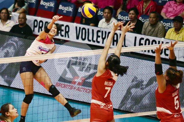 Creamline makes quick work of newcomer Petro Gazz in PVL opener