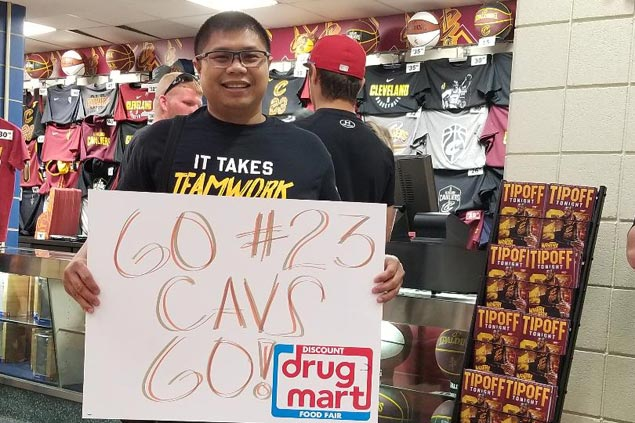 Pinoy fans travel far and wide to watch Game 3 - and became witnesses to greatness