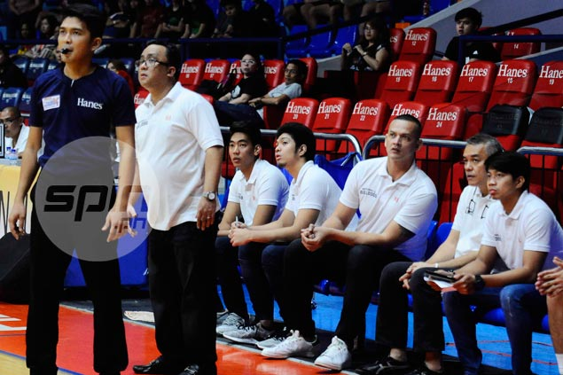 J-Jay Alejandro aspires to learn different facet of game as NU volunteer assistant coach