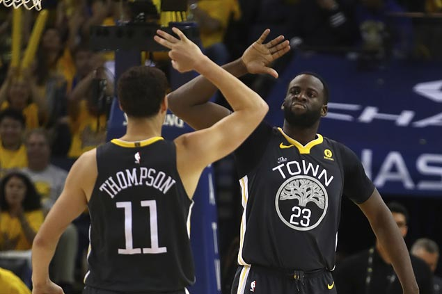 Call it Death Lineup, Hamptons Five or whatever.Kerr's best starters are absolutely dominant