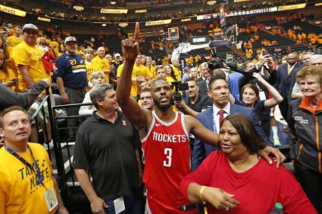CP3's 'midrange layups,' Capela block party put Rockets on cusp of West finals