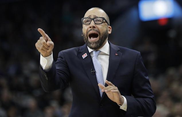 It's official: David Fizdale is new Knicks head coach