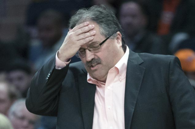 Stan Van Gundy out as Pistons coach and president after four seasons of mostly mediocre results