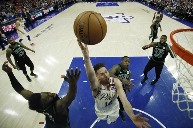 TJ McConnell steps up as 76ers avoid getting swept by Celtics