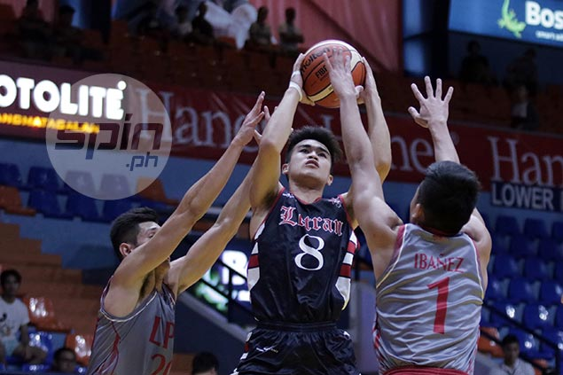 Letran holds off undermanned Lyceum to bounce back on win track in Filoil Cup