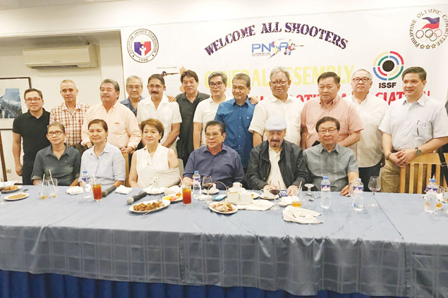 Shooting federation seeks POC recognition after ratifying election of new chief Chavit Singson