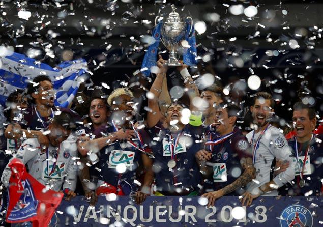 Paris Saint-Germain beats valiant minnow Les Herbiers to win Coupe de France