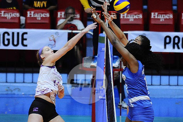 Iriga-Navy import Macy Ubben deflects credit to teammates for impressive PVL debut