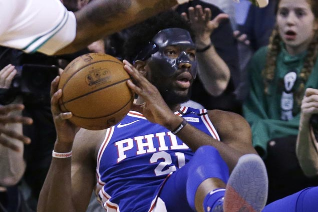 As Celtics march on, Embiid looks ahead to never-ending Process to get better