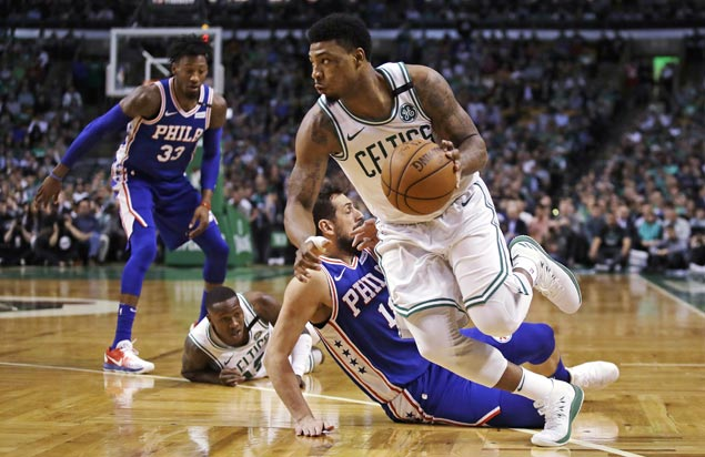 Celtics close out Sixers to arrange Eastern Conference finals rematch with Cavs