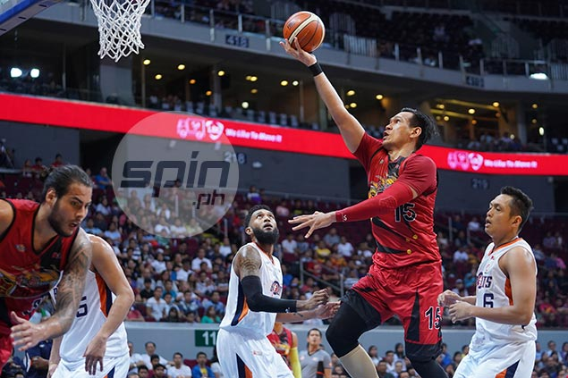 Fajardo says SMB rookie Standhardinger will eventually get the hang of it