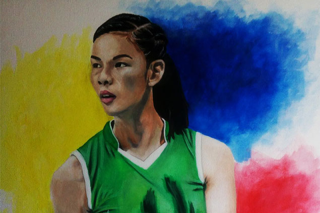Majoy Baron and Co. feted as visual artists paint 'Portrait of the Cordillera Athlete'