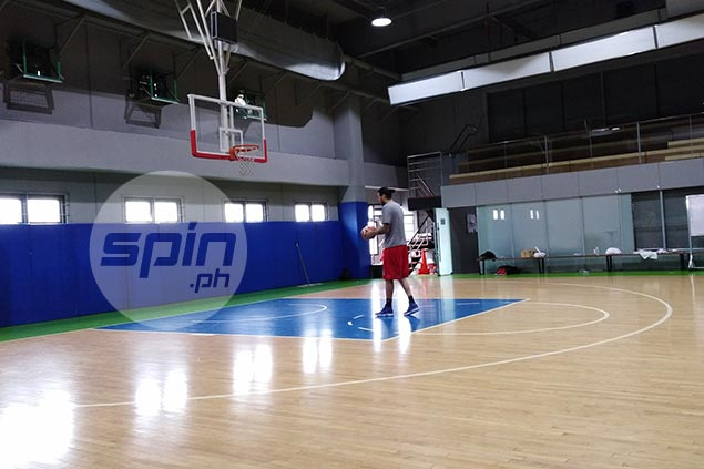 After pedestrian debut, Standhardinger was first in the gym for SMB doing extra practice