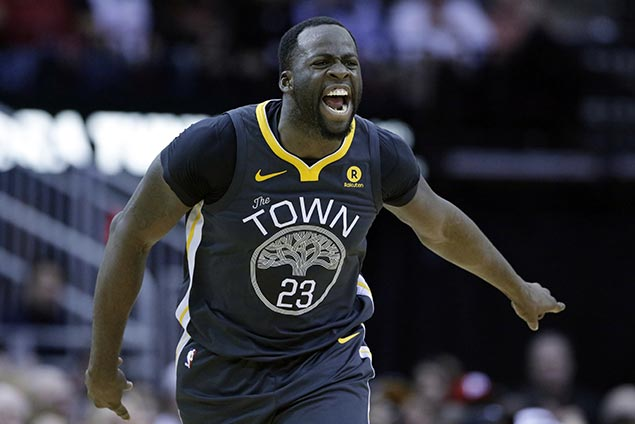 Draymond Green brushes off threats, 'locked in' to play at his best to give Warriors unique edge