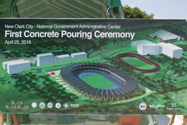 Builders promise world-class facilities at New Clark City for 2019 SEA Games. Look