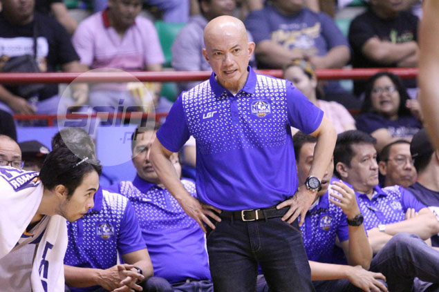 Yeng Guiao simply glad to end slump:After three losses, we have to start somewhere'