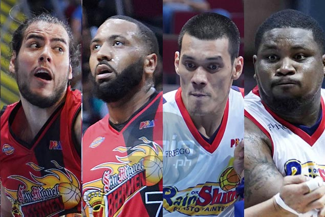 San Miguel frontcourt faces another tough test against Rain or Shine