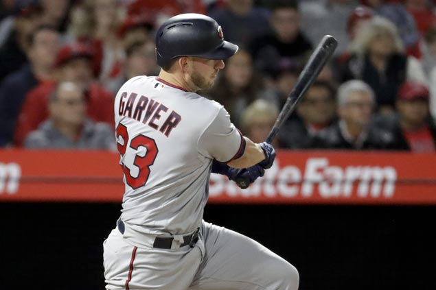 Mitch Garver double in 12th propels Twins over Angels