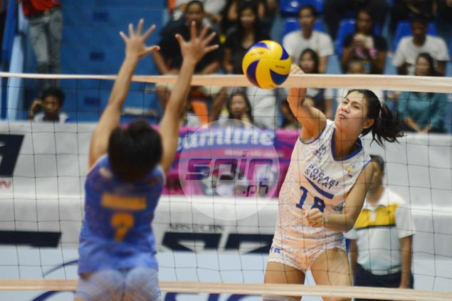 Pocari Sweat-Air Force fights back from a set down to beat BanKo Perlas for first win