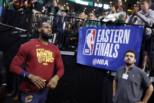 LeBron not worried being down 0-1, credits Celtics and Morris for solid defense