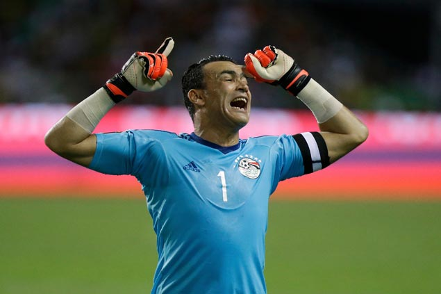Essam El-Hadary looks set to become oldest player to see action in World Cup