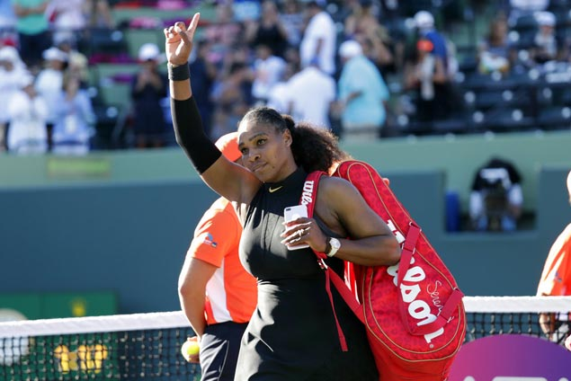 Coach Patrick Mouratoglou says Serena Williams will return to action at Roland Garros